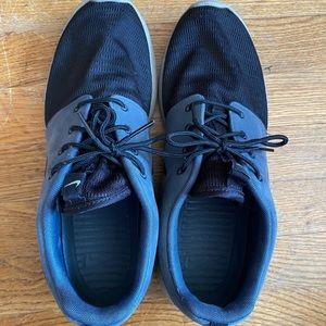 Nike Roshe Run two toned suede